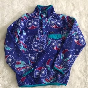Patagonia Synchilla Pullover in Harvest Blue Moon